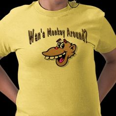 Monkey Around Tee Shirts