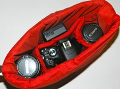 Camera Purse Insert (padded)  by Darby Mack Designs