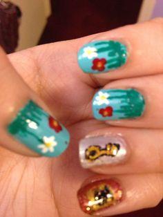 #garden #gardennails #nails #nailart #nailpolish #floral #floralnails #flowers #flowernails #daisies #daisy #daisynails #rosenails #roses #key #keynails #lock #door #doornails #locknails #pureice #wetnwild #newyorkcolor #cutenails #shinynails