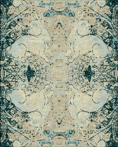Moon Rabbit #textiles #rugs