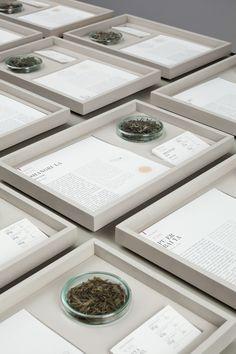 EVH - Paper & Tea Concept Store by Fabian von Ferrari // Berlin. Tea Display, Display Design, Design Shop, Tea Design, Exhibition Display, Exhibition Space, Exhibition Ideas, Tea Packaging, Packaging Design