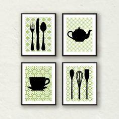 1000 Ideas About Kitchen Artwork On