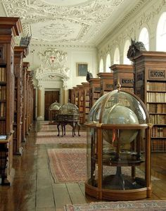 Queen's College Library, Oxford