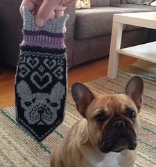mittens that were made for Holly