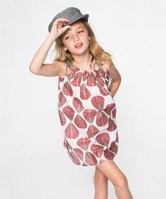 Red Leaf Pillowcase Dress - Toddler & Girls