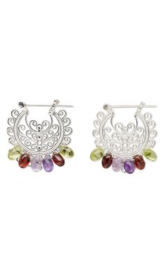 Jewelry Design - Earrings with Gemstone Beads and Wirework - Fire Mountain Gems and Beads