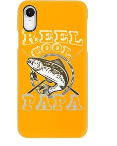 Mens Reel Cool Papa - Fishing T-Shirt - Gold #crafts #events #gift fishing logo, fishing rod holder, fishing rod building, back to school, aesthetic wallpaper, y2k fashion