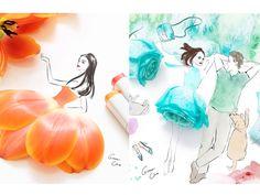 As ilustrações com flores de Grace Ciao | Não Combina - www.nãocombina.com.br