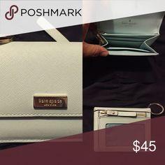 Kate Spade Wallet Light Tiffany Blue 10/10 kate spade Bags Wallets