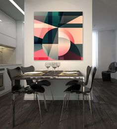 Buy Abstract composition Digital Art (Giclée) by Vera Higgins on Artfinder. Discover thousands of other original paintings, prints, sculptures and photography from independent artists. Abstract Geometric Art, Abstract Canvas, Op Art, Modern Murphy Beds, Internet Art, Murphy Bed Plans, Buy Paintings, Original Paintings, Decorate Your Room