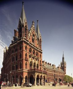 St. Pancras Station: where the Weasley's magical Ford Anglia takes off in The Chamber of Secrets