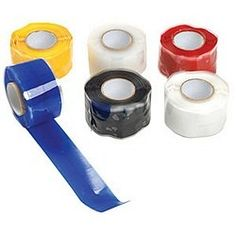 Tommy Tape Vp1014 Self-Fusing Silicone Miracle Wrap Roll (Pack Of 6), 2015 Amazon Top Rated Silicone Adhesives #BISS