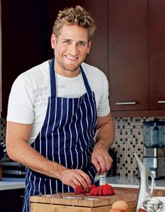 Curtis Stone - a man who's hot AND can cook....would love you to come visit ME!!
