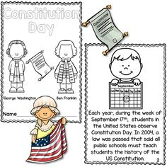 Free Cute Constitution Day Printables | ♢ Common Core Creativity U0026 STEM |  Pinterest | The Ou0027jays, Couple And Blog