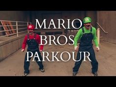 We've all seen Parkour done over and over again, but this parkour video is what I would like to call original :) Super Mario Parkour! Check out the video below as Mario and Luigi jump and bounce around the very real world with parkour style moves. Super Mario Bros, Super Mario Brothers, Nicolas Cage, Tom Clancy, Parkour Moves, Dean Norris, Mario Y Luigi, Spiderman, Joker