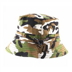 561bce71 Natuworld Cotton Bucket Hats Camouflage Round Brim Boonie Bush Safari Fishing  Hat Cap Summer for Unisex Men Women - 7 Color Available