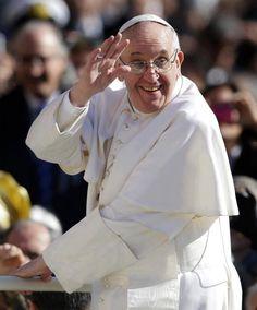 Ivone Veras Papa Francisco smile
