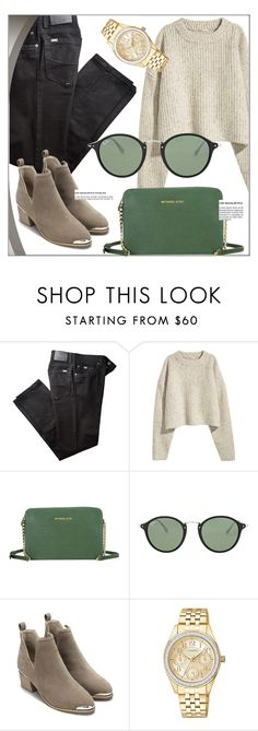 """""""Green Hit"""" by jomashop ❤ liked on Polyvore featuring BRAX, Ray-Ban, Fall and GREEN"""