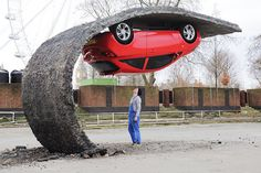by Alex Chinneck