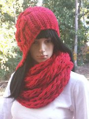 Vintage Cloche Hat & 1-Cord Scarf - Electronic Download