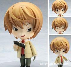 "4"" Anime Death Note Yagami Light PVC Figure Nendoroid 12# New in Box"