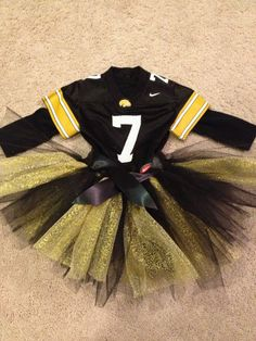 University of Iowa Hawkeyes Inspired Tutu by BlueCrocodile on Etsy, $25.00