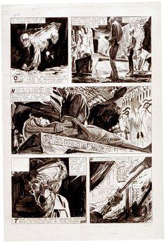 Alberto Breccia - Mort Cinder