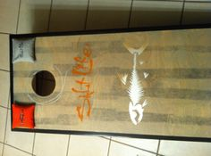 Saltlife Cornhole Board Design