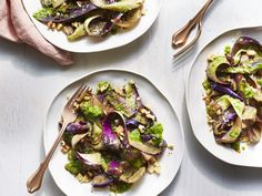 """Eggplant Pappardelle 