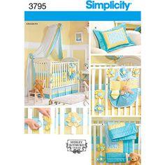 Simplicity Pattern Nursery Accessories