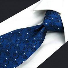 ShlaxWing Navy Blue Neckties Silk Men Ties Business Set 575 63 Skinny  #ties #menaccessories #necktie #fashiontie