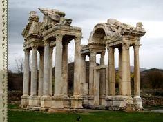Afrodisias Tetrapylon #Turkey #Afrodisias
