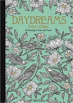 Daydreams 20 Postcards Coloring Book By Hanna Karlzon Originally Published In Sweden As Dagdrommar Vykort Att Farglagga