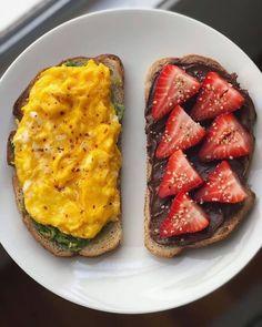 Think Food, I Love Food, Good Food, Yummy Food, Healthy Breakfast Recipes, Healthy Snacks, Healthy Recipes, Food Porn, Food Goals