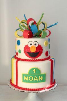 https://flic.kr/p/tYuWS3   Elmo Cake for Noah   Double chocolate cake with white chocolate swiss meringue buttercream and fresh raspberries