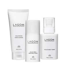 LAGOM  [라곰] 수분 진정 활력케어 세트 #skincare #simple #kinfolk #beauty #package #cosmetic