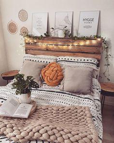 Cute Bedroom Decor, Cute Bedroom Ideas, Teen Room Decor, Cute Home Decor, Room Ideas Bedroom, Bed Ideas, Bedroom Designs, Bed Room, Entryway Decor