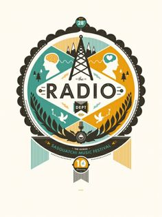 Designspiration — GigPosters.com - Radio Dept., The