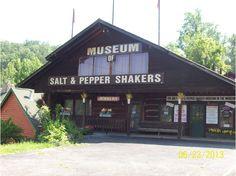 Salt and Pepper Shaker Museum - $3 admission #gatlinburg