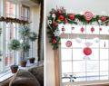 20+ kreativních nápadů na vánoční výzdobu oken ve Vaší domácnosti!