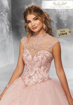 Beaded Illusion Quinceanera Dress by Mori Lee Vizcaya 89197 – ABC Fashion Quince Dresses, 15 Dresses, Fashion Dresses, Satin Tulle, Tulle Gown, Mori Lee Quinceanera Dresses, Quinceanera Ideas, Fiesta Dress, Donia