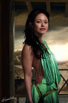 """Marisa Ramirez as Maria Baez from """"Blue Bloods"""" Liam Mcintyre, Spartacus Women, Spartacus Quotes, Divas, Roman Gladiators, Medieval, Spartacus Workout, Ancient Beauty, Blue Bloods"""