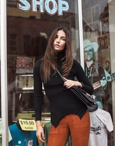 fashion editorials, shows, campaigns & more!: rock 'n' roll queen: lily aldridge by mark kean for the edit by net-a-porter august 2015 Fashion Tv, Daily Fashion, Autumn Fashion, Knit Fashion, Spring Fashion, Luxury Fashion, Lily Aldridge, Fashion Gone Rouge, Garance