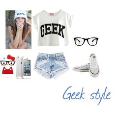 """geek style"" by shasha-thtgirl on Polyvore"