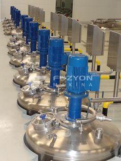 Kimya Paslanmaz Ekipmanları - Proses Tank Tarlası | Füzyon Makina