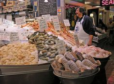No visit to Seattle is complete without a visit to Pikes Place Market and the fabulous fish market!