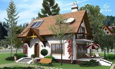 case de vis cu mansarda beautiful loft houses 11 Loft House, Attic Rooms, Design Case, Home Fashion, Construction, Exterior, House Design, Beautiful, House Styles