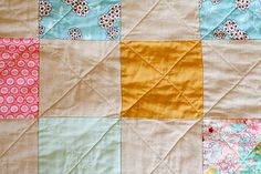 In Color Order: Patchwork Picnic Quilt Tutorial