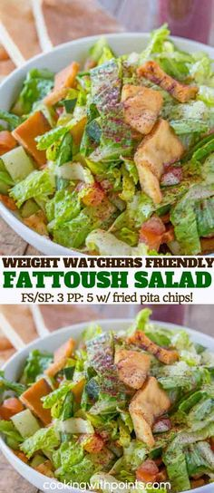 03e5dfdc814b6 Fattoush Salad with Sumac Dressing Healthy Vegetable Recipes