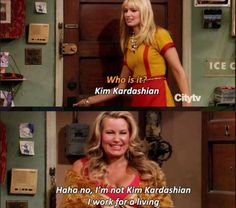 I love 2 broke girls!!